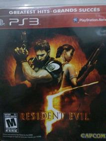 Resident Evil 5 Ps3 Original , Leia A Descriçao