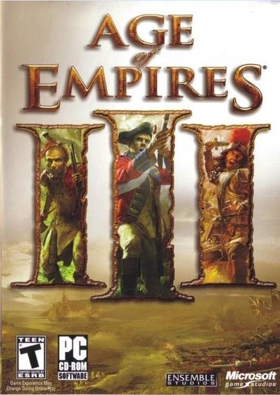 Age Of Empires 3 Pc + Expansões Mídia Física Promoção