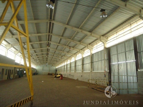 Alugo Excelente Galpão Industriai Com 2016,50 M², No Distrito Industrial Alfredo Rella, Bairro Pinhal Em Itatiba - Gl00035 - 69192992