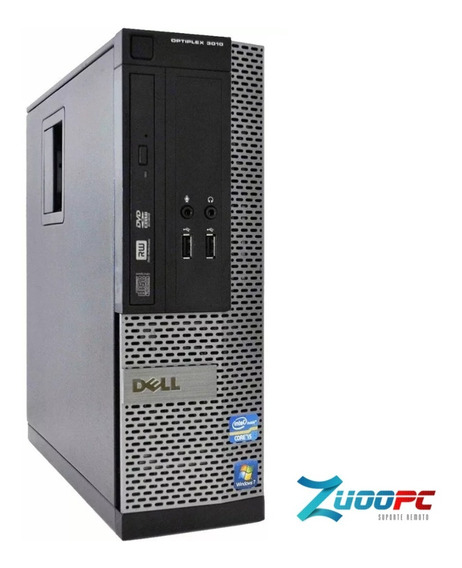 Cpu Dell Optplex 3010 Intel Core I3 + 4gb + Hd 250 Wind10
