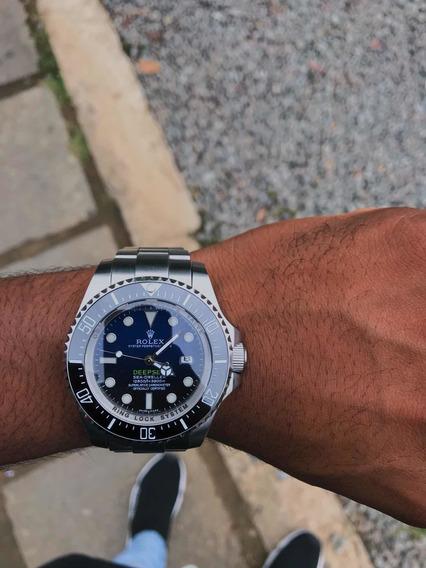 Relogio Rolex Deepsea D Blue Automatico