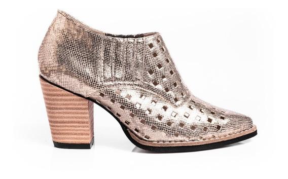 Botas Botitas Botinetas Zapatos Mujer Punta Fina Charol