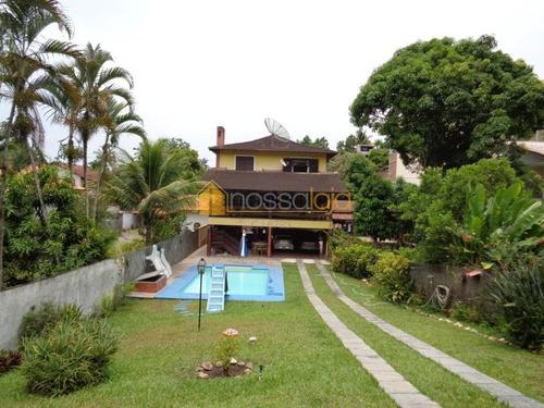 Casa Com 3 Dormitórios À Venda, 322 M² - Maria Paula - São Gonçalo/rj - Ca0924