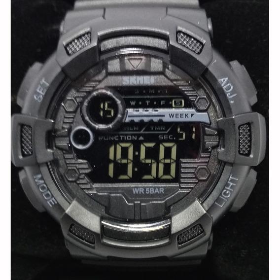 Relógio Skmei 1243 Resistente A Água 50m Preto Original