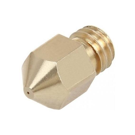 Nozzle Bico Para Hotend 1.75mm. 1 Peça 0.4 Filamento Pla