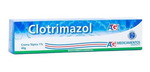 Clotrimazol Crema Topica 1% Ag X 40gr