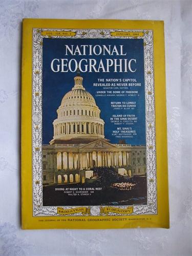 9  Revistas National Geographic  1964 Cada Una 360