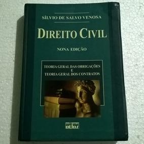 Livro Direito Civil - Sílvio De Salvo Venosa - Nona Edição