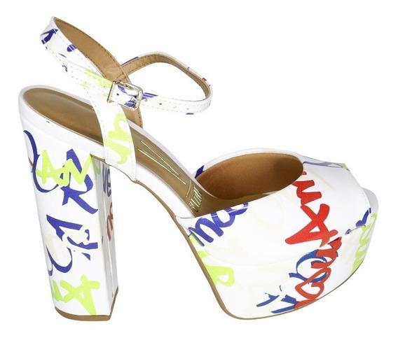 Sandalia De Mujer Vizzano 6282 Multicolor