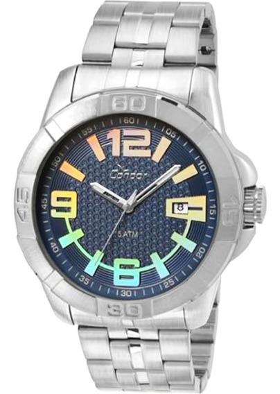 Relógio Masculino Condor Co2415az/3a Aço