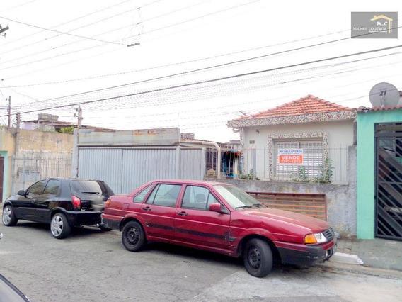 Terreno À Venda, 250 M² Por R$ 425.000,00 - Vila Ema - São Paulo/sp - Te0124
