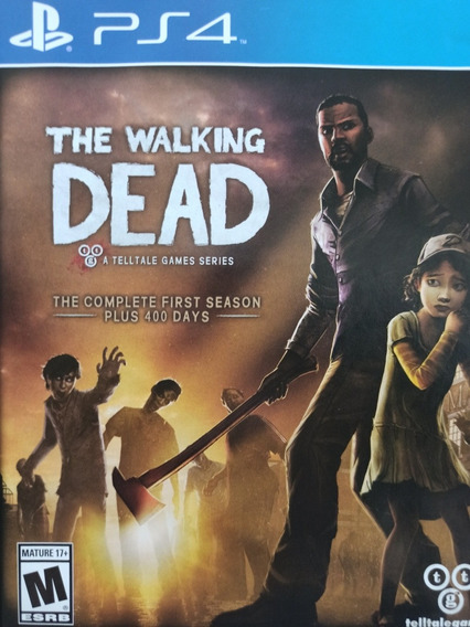 The Walking Dead The Complete First Season Ps4 Mídia Física