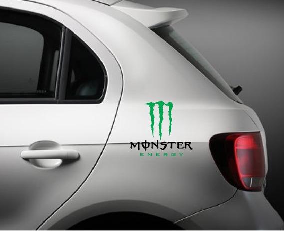 2x Adesivos Monster Energy Marcas Bebidas Rally Cross D234