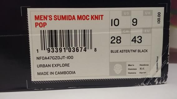 Zapatilla The North Face Hombre Sumida Moc Knit Pop