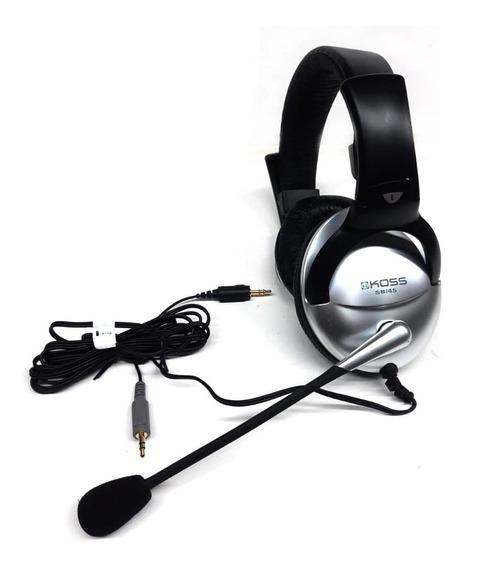 Fone De Ouvido Headset Com Microfone Koss Sb45