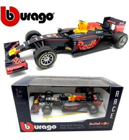 Miniatura Metal Red Bull F1 Gran Prix Burago Escala 1:43