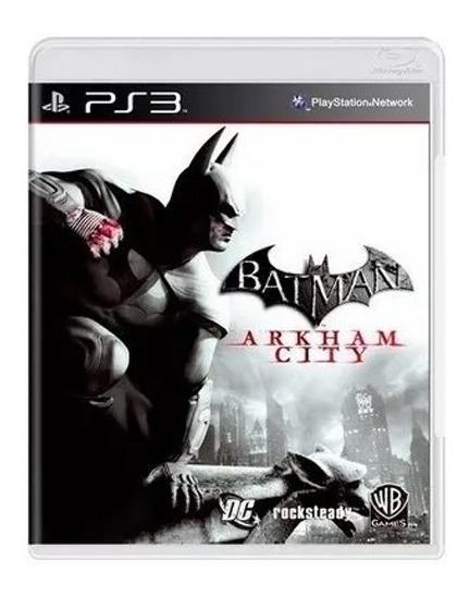 Jogo Batman Arkham City Ps3 Mídia Física