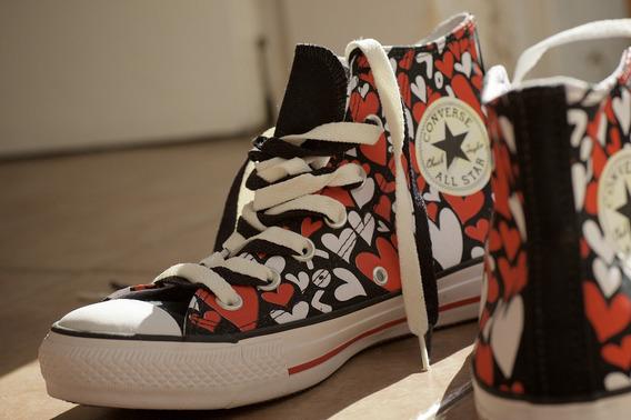 Zapatillas Botitas All Star Love