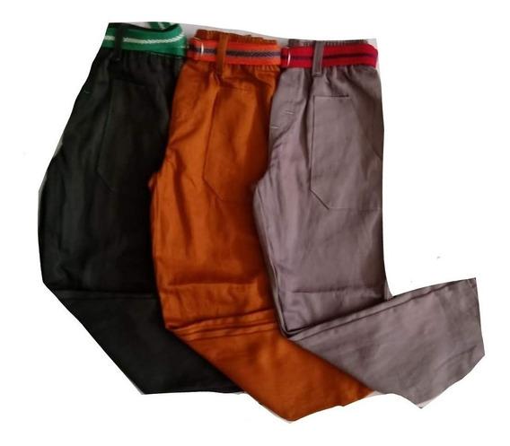 Kit Atacado 5 Calça De Brim E 5 Camisa Manga Longa Infantil