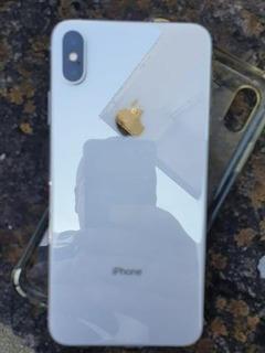 iPhone Xs 64gb Branco Usado Estado De Novo C/nota Da Compra
