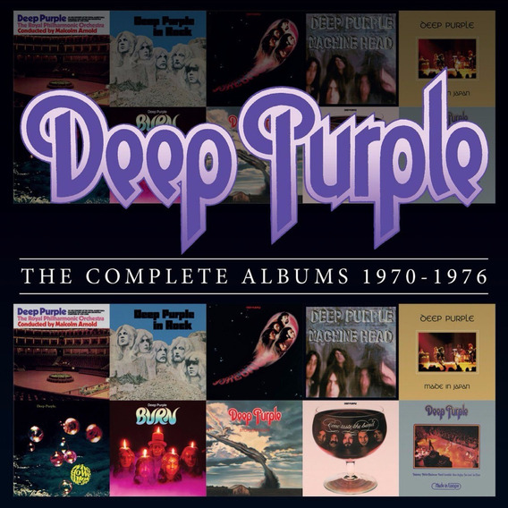 Deep Purple The Complete Albums 1970- 1976 - Box Set 10 Cds