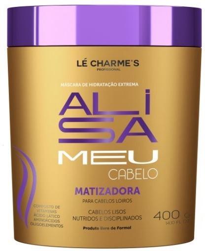Alisa Meu Cabelo 400g - Máscara Matizadora - Lé Charme