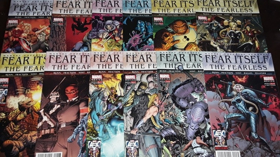 Fear Itself The Fearless Avengers Thor Marvel Televisa Comic