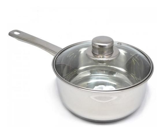 Cacerola Gourmet Plus 18 Acero Inoxidable Triple Fondo