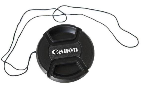 Tampa Canon 58mm Cordão - Lente 18-55 55-250 28-90 T7i P57