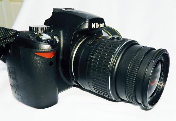 Câmera Digital D 60 Nikon Usada, Em Perfeito Funcionamento.