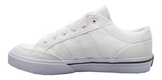 Tenis adidas Hombre Blanco Gvp Canvas Str Q34345