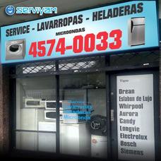 Service Reparación Lavarropas Y Heladeras -carga Gas