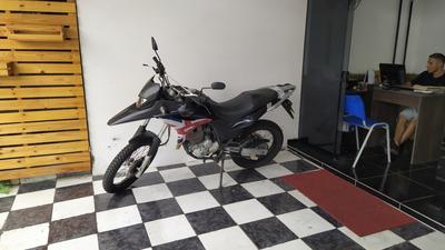 Honda Xre 300 2012 Azul Tebi Motos