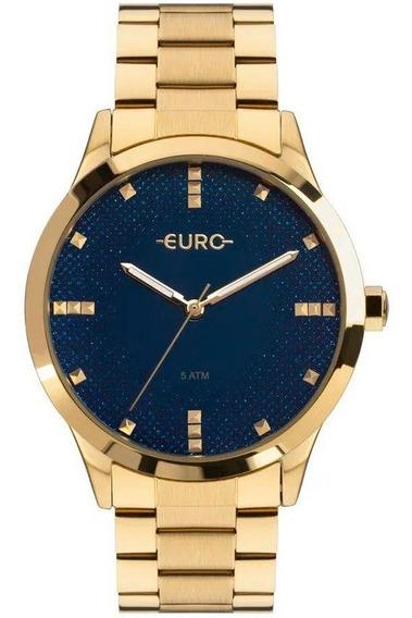 Relógio Euro Feminino Glitter Fever Eu2036yoj/4a