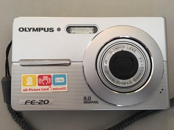 Cámara De Fotos Digital Olympus Fe-20