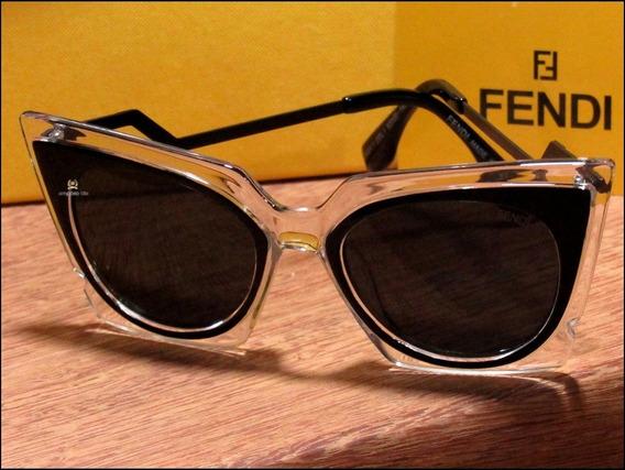 Óculos De Sol Fendi Orchidea Unisexx Já No Brasil °1088°