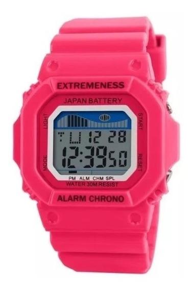 Relógio Feminino Skmei 6918 Digital Esportes Pronta Entrega