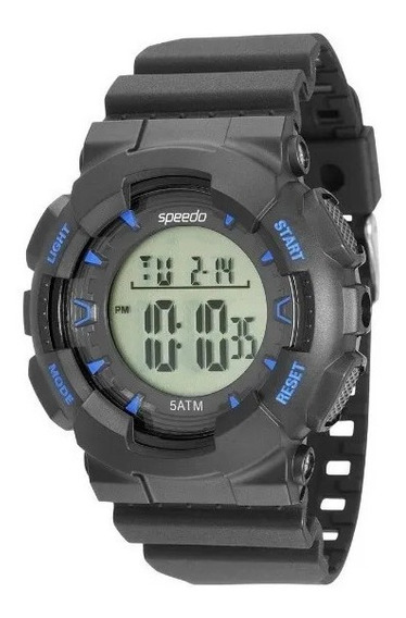Relógio Speedo Masculino 81096g0evnp2 Cronômetro Alarme Foto