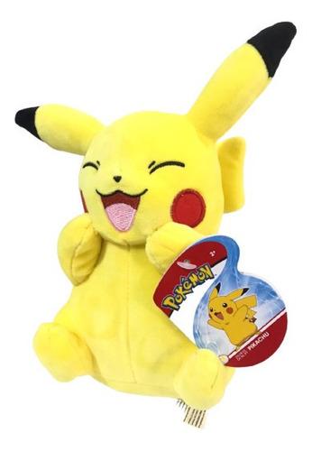 Imagem 1 de 4 de Pelúcia Pokémon - Pikachu 20cm - Wct - Sunny Licenciada