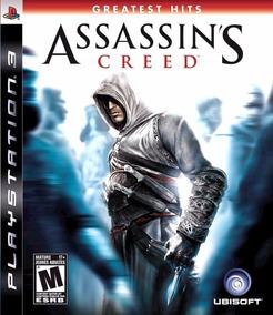 Assassins Creed 1 Ac1 Ps3 Original Completo Mídia Física