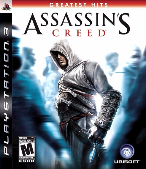 Assassins Creed 1 Ac1 Ps3 Original Completo Mídia Física