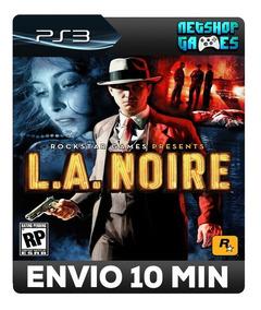 L.a. Noire - Psn Ps3 - Promoção - Pronta Entrega