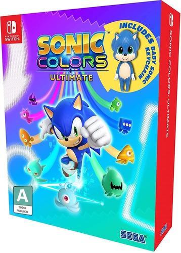 Imagen 1 de 5 de Sonic Colors Ultimate Edición Day One - Nintendo Switch