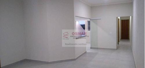 Casa Com 2 Dormitórios À Venda, 100 M² Por R$ 318.000,00 - Vila Valle - Sumaré/sp - Ca1251