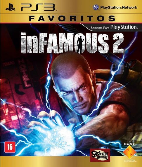 Jogo Infamous 2 Ps3 Playstation 3 Dub Português Frete Grátis