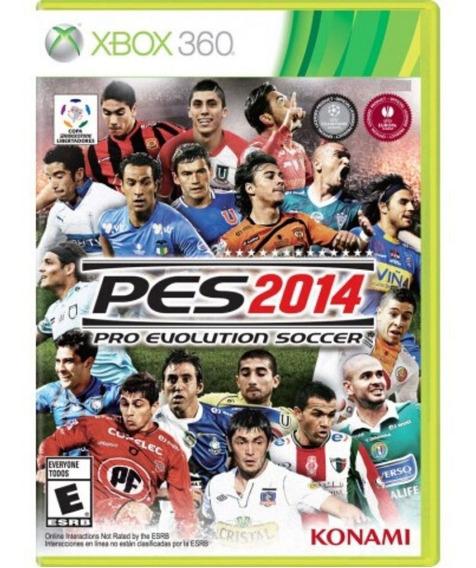 Pes 2014 Xbox 360 Midia Física
