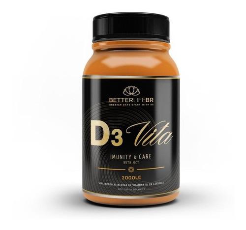 D3 Vita Mct Vitamina D 2000ui Imunidade 60 Cáps Betterlife