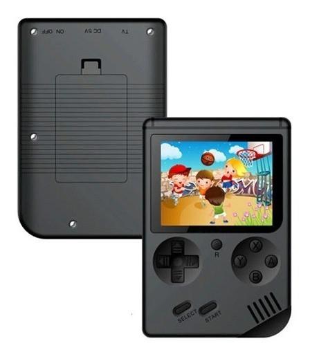 Mini Game Portátil Retro 300 Jogos Clássicos Lcd Preto