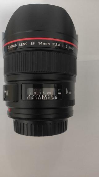 Promoção: Lente Canon 14mm 2.8 Série L Ii