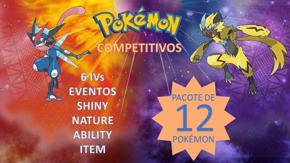 Pokémon 6 Iv Competitivo E Evento, Ultra Sun Moon, Xy, Oras